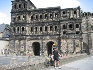 Hilmar and the Porta Nigra